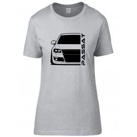 VW Volkswagen Passat B6 Typ 3C Outline Modern T-Shirt Lady