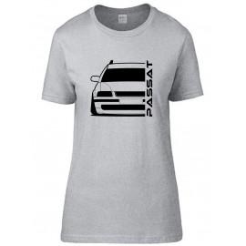 VW Volkswagen Passat B5 Typ 3B Outline Modern T-Shirt Lady