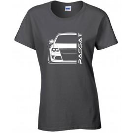 VW Volkswagen Passat B6 Typ 3C Outline Modern Hoodie Lady