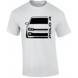 VW Volkswagen Polo 2017 R-Line Outline Modern T-Shirt