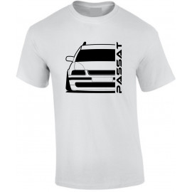 VW Volkswagen Passat B5 Typ 3B Outline Modern T-Shirt