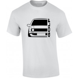 VW Volkswagen Golf II Outline Modern T-Shirt