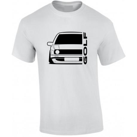 VW Volkswagen Golf II Outline Modern T-Shirt