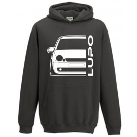 VW Volkswagen Lupo Outline Modern Hoodie