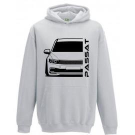 VW Volkswagen Passat GTE 2020 Outline Modern Hoodie