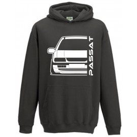 VW Volkswagen B4 Typ 3A 93-97 Limo Outline Modern Hoodie