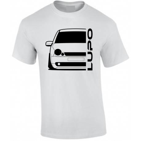VW Volkswagen Lupo Outline Modern T-Shirt