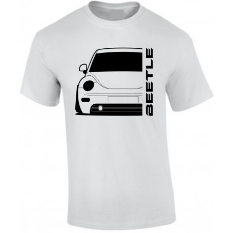 VW Volkswagen Beetle 1998 Outline Modern T-Shirt