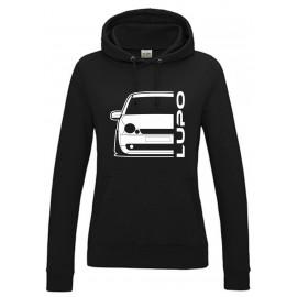 VW Volkswagen Lupo Outline Modern Hoodie Lady