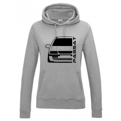 VW Volkswagen B4 Typ 3A 93-97 Limo Outline Modern Hoodie Lady