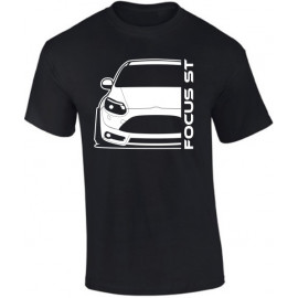Ford Focus MK3 ST Prefacelift Modern Outline V-Neck