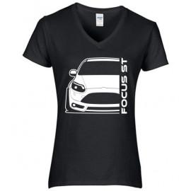 Ford Focus MK3 ST Prefacelift Modern Outline V-Neck Lady