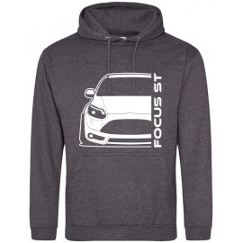Ford Focus MK3 ST Prefacelift Modern Outline Hoodie
