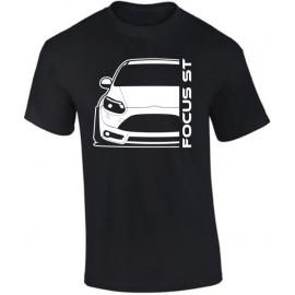 Ford Focus MK3 ST Prefacelift Modern Outline T-Shirt