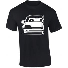 Opel Omega A Outline Modern T-Shirt