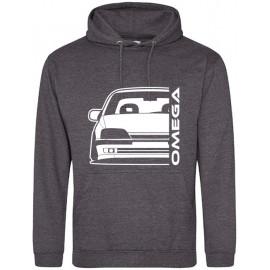 Opel Omega A Outline Modern Hoodie