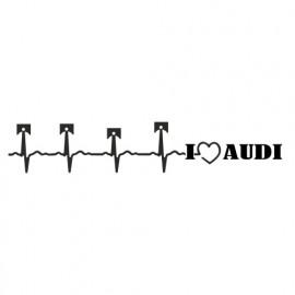 I love Audi Kolben