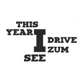 This Year i drive zum See