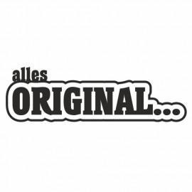 Alles Original