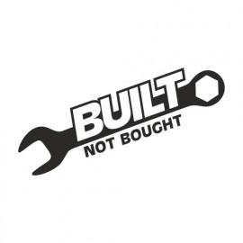 Built not bough Schraubenschlüssel