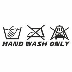 Hand wash only Carwash